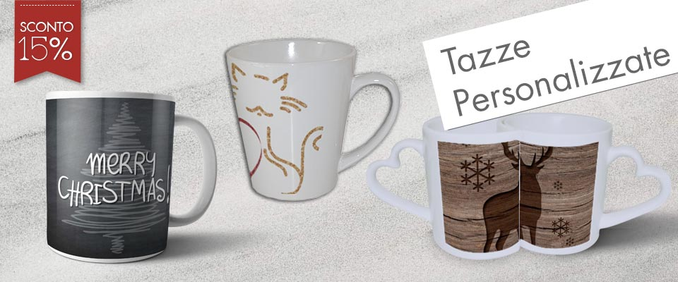 tazze personalizzate