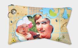 pochette personalizzata con foto di mamma con bambina