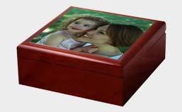 portagioie personalizzato con foto di mamma con bambina