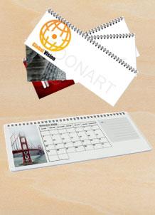Calendario da Scrivania Panoramico