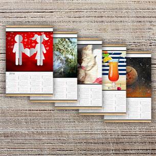 Calendario su arazzo A3